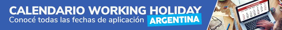 fechas de working holiday visas para argentinos