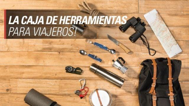 caja de herramientas viajeros