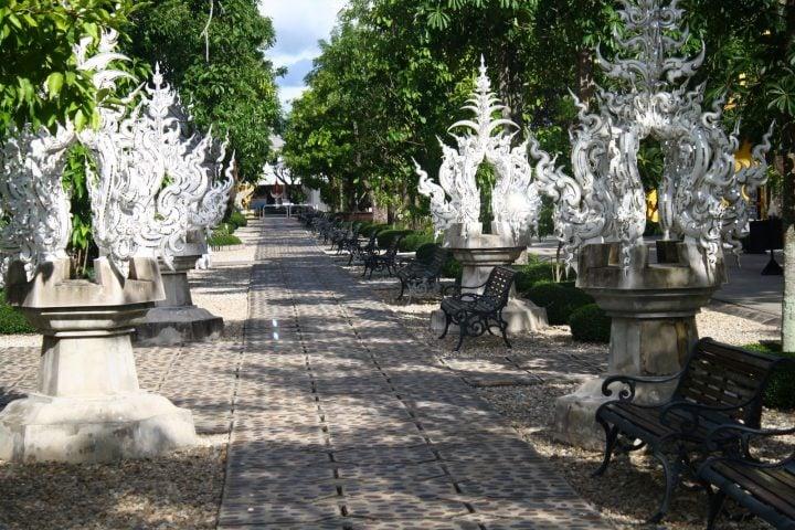 chiang rai templo blanco tailandia