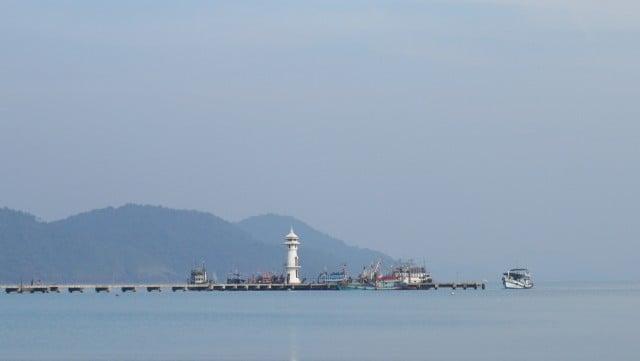 ko chang tailandia bang bao bay pueblo pescadores