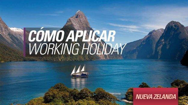 nueva zelanda como aplicar visa working holiday