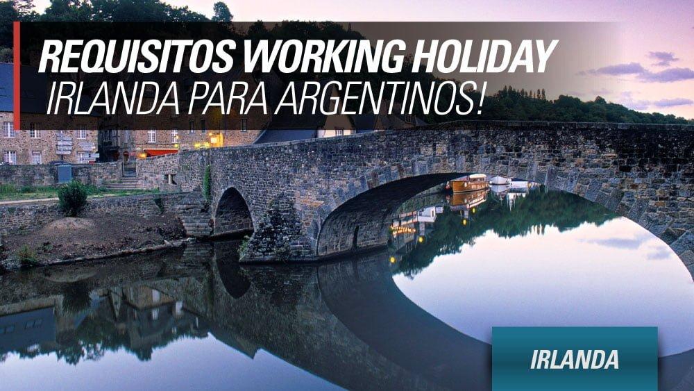 requisitos working holiday irlanda