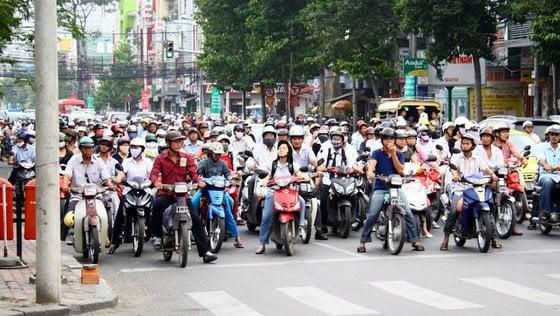 Motos Saigon Vietnam