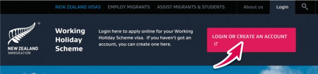 aplicar conseguir visa working holiday nueva zelanda