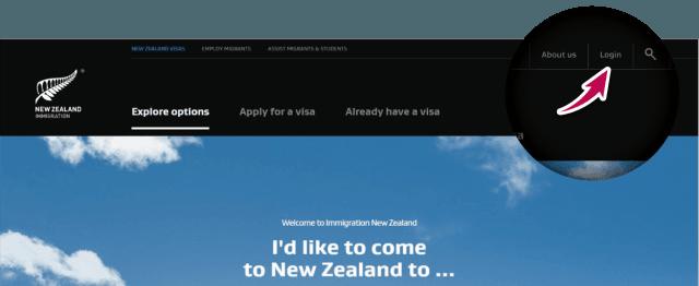 aplicar visa sistema working holiday nueva zelanda