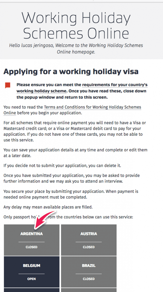 manual visa nueva zelanda working holiday