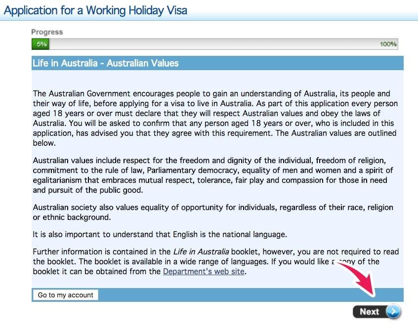 visa working holiday australia pasaporte italiano