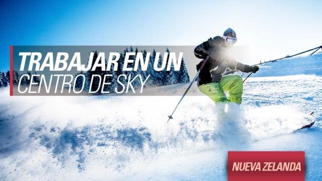 buscar trabajo centro de ski nieve nueva zelanda