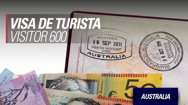 australia sacar conseguir visa de turista visitor 600