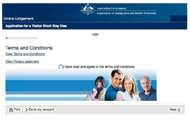 visa turista australia 600 visitor