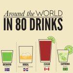 La vuelta al mundo en 80 bebidas