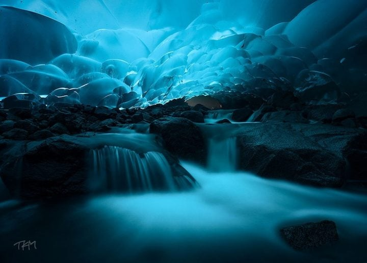 cuevas de hielo alaska