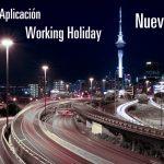 Resumen: Aplicación a la Working Holiday Nueva Zel...