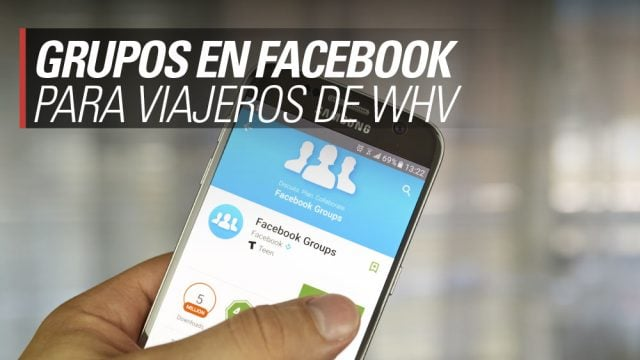 grupos facebook working holiday