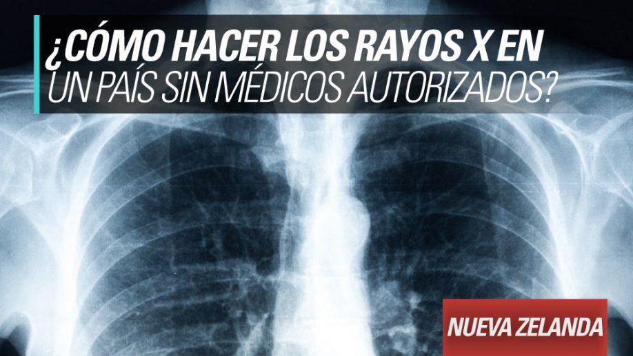 rayos x pais sin medicos autorizados