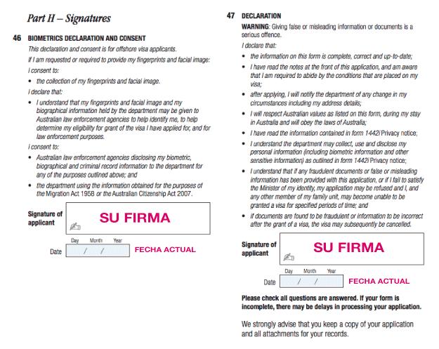 Formulario aplicacion work and holiday australia 1208 2017