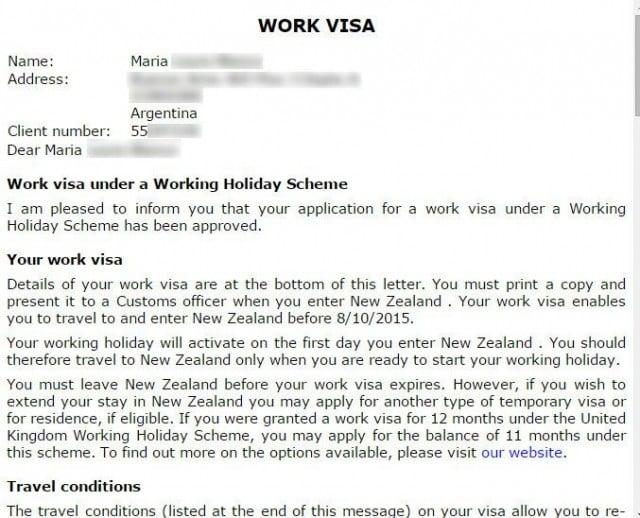 datos visa nueva zelanda