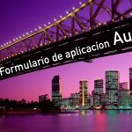formulario visa work holiday australia