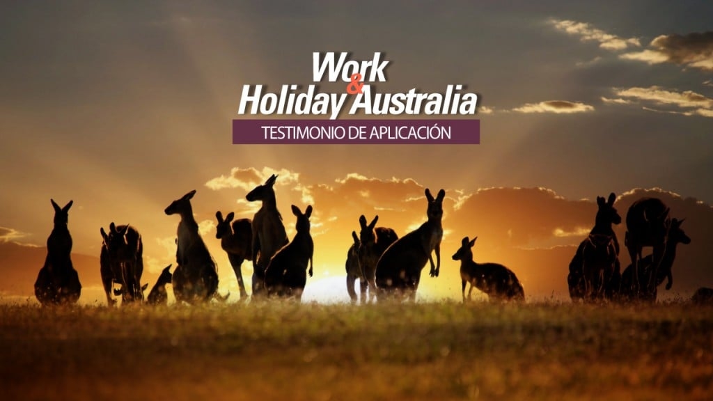 work holiday visa australia aplicacion