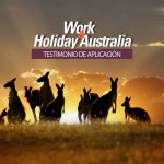work holiday visa australia aplicacion
