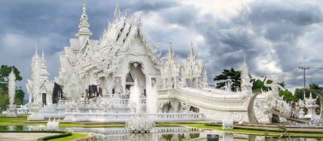 chiang rai tailandia templo blanco