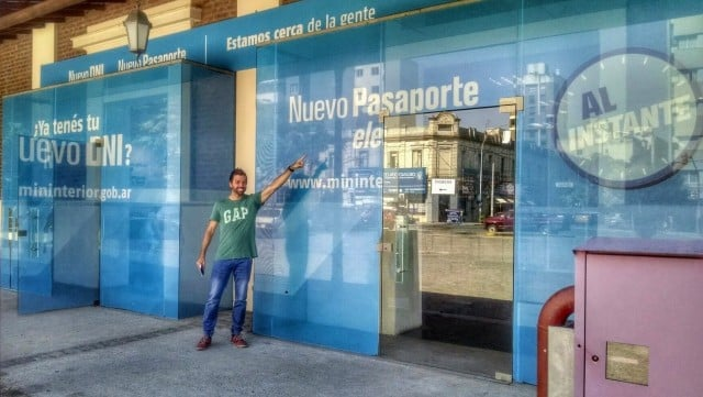 sacar pasaporte argentino express en el acto