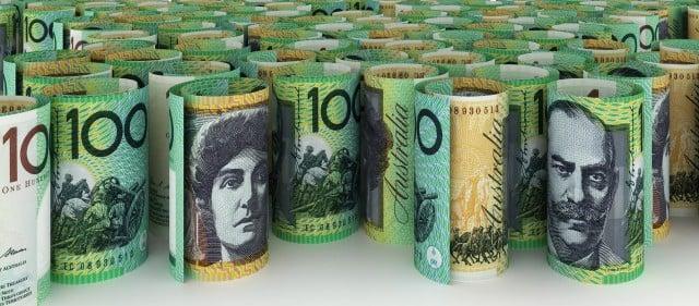 100 Australian Dollar Background