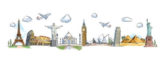 a viajar por el mundo
