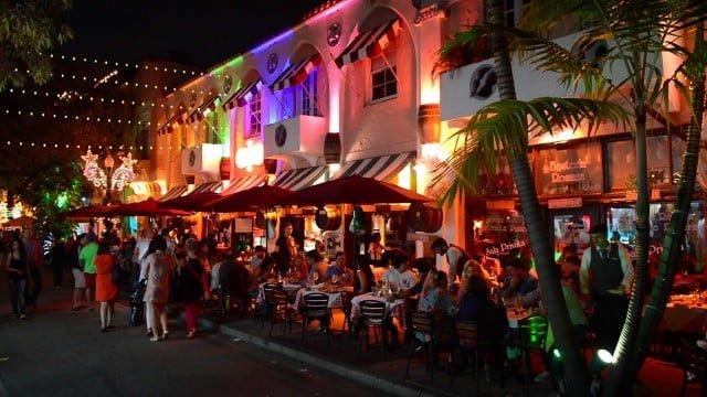 Española Way Miami Beach Atracciones
