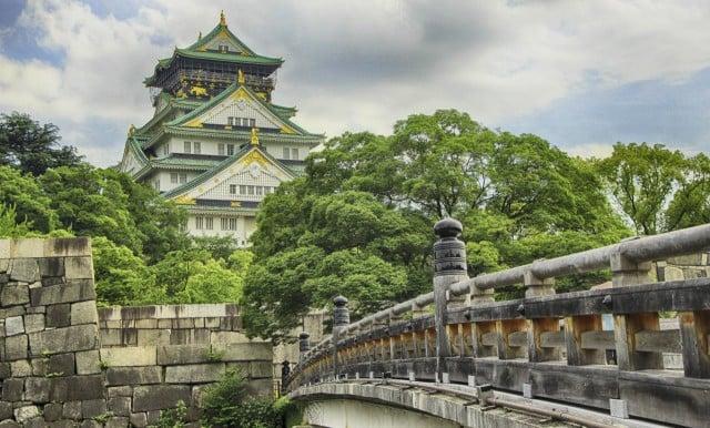 viaje por japon castle