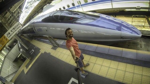 viaje por japon tren bala