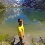 Carlos (España) en su paso por Nueva Zelanda