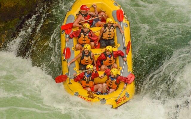 rafting nueva zelanda