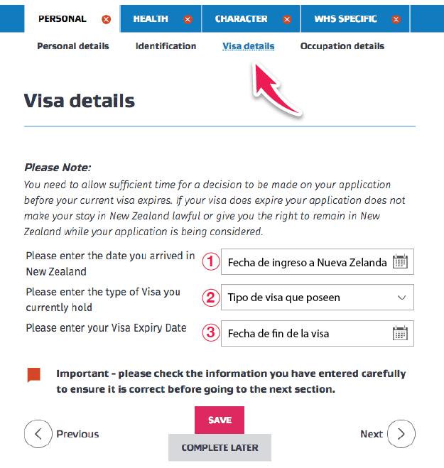 aplicar working holiday visa desde nueva zelanda