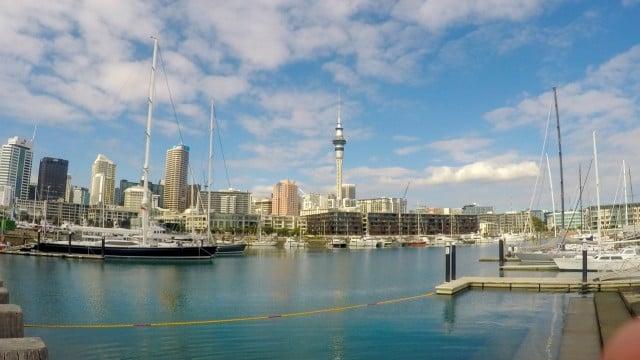puerto nueva zelanda auckland