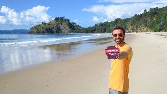 new chums beach playa nueva zelanda viajar