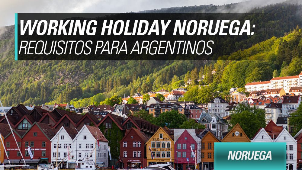 working holiday noruega argentinos