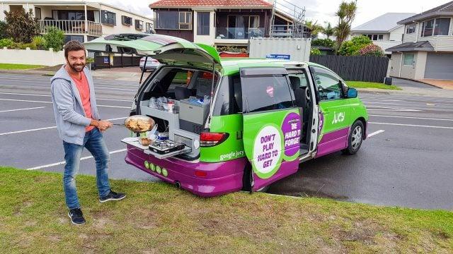 comiendo en mount maunganui nueva zelanda