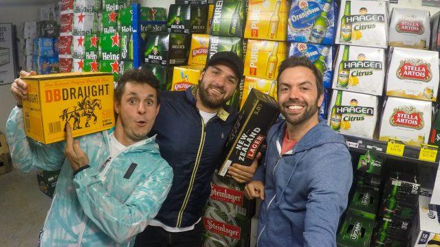 comprando cervezas te puke nueva zelanda