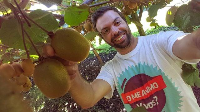 Recogida de fruta nueva zelanda