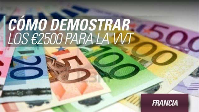 francia demostrar fondos conseguir vvt working holiday francia
