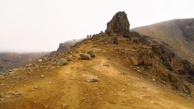 tongariro caminata nueva zelanda subida
