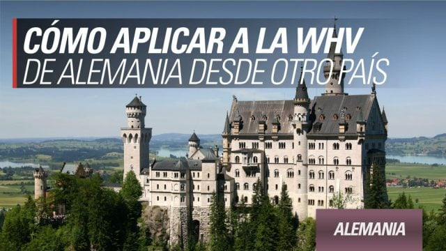 working holiday alemania desde afuera exterior