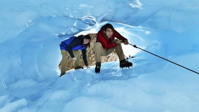 caminata glaciar nueva zelanda
