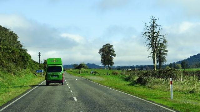 conducir nueva zelanda isla sur