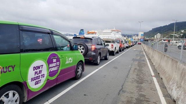 ferry nueva zelanda wellington isla sur
