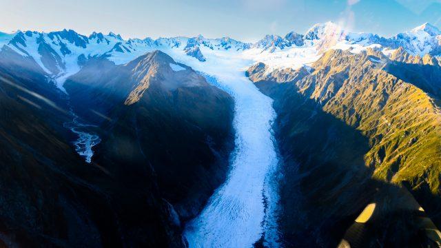 helicoptero glaciares nueva zelanda