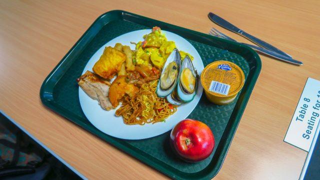 comida crucero milfod sounds nueva zelanda