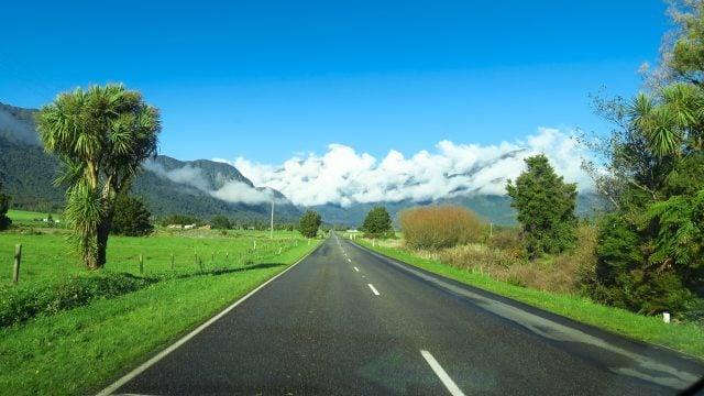 nueva zelanda ruta isla sur