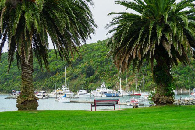 picton nueva zelanda isla sur